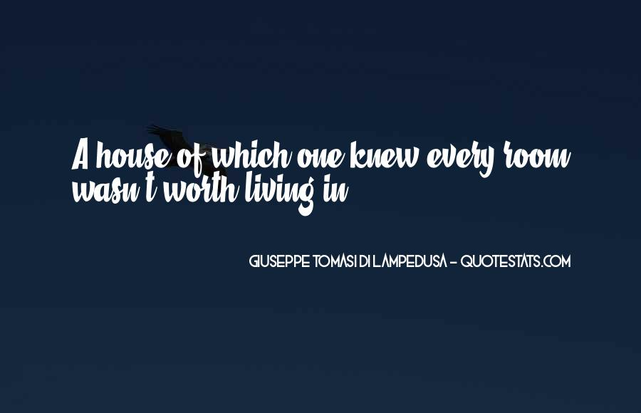 Giuseppe Tomasi Di Lampedusa Quotes #1309285