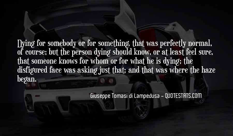 Giuseppe Tomasi Di Lampedusa Quotes #1661049