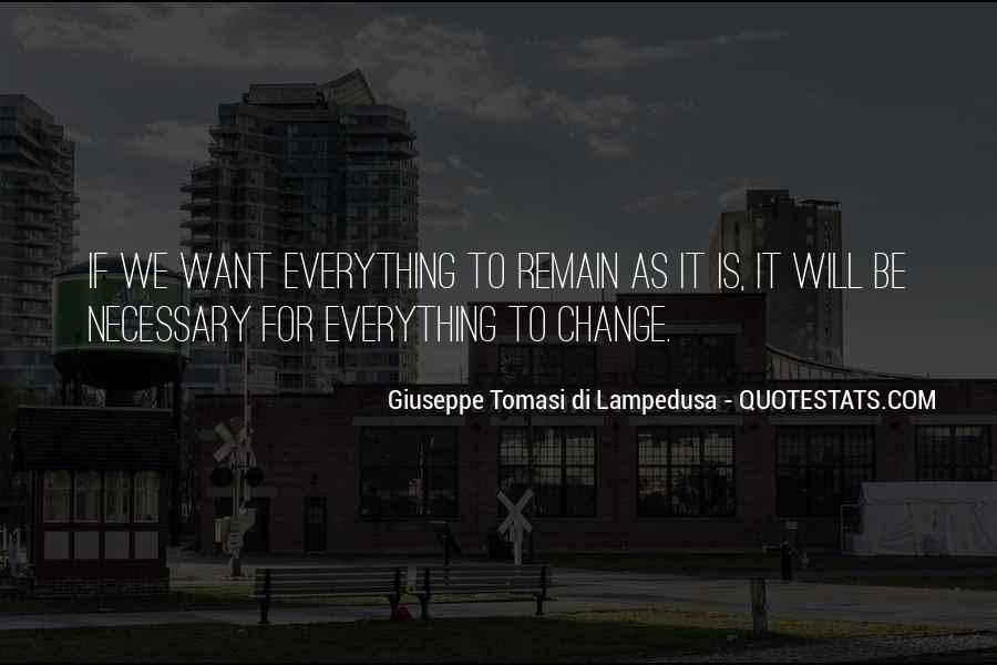 Giuseppe Tomasi Di Lampedusa Quotes #1795905