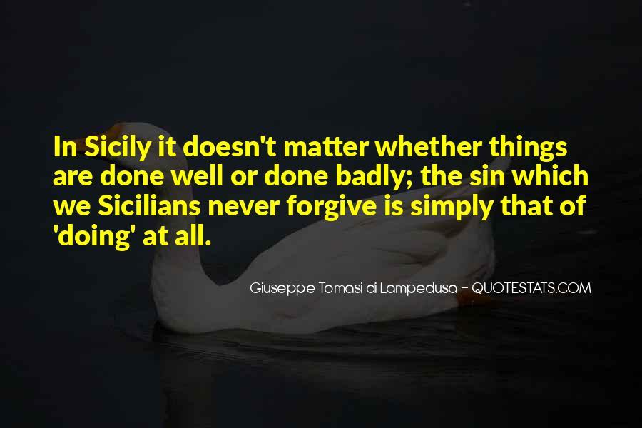 Giuseppe Tomasi Di Lampedusa Quotes #1831852