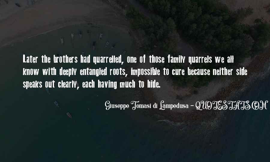 Giuseppe Tomasi Di Lampedusa Quotes #255953