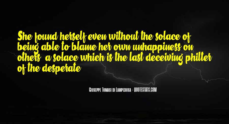 Giuseppe Tomasi Di Lampedusa Quotes #611884