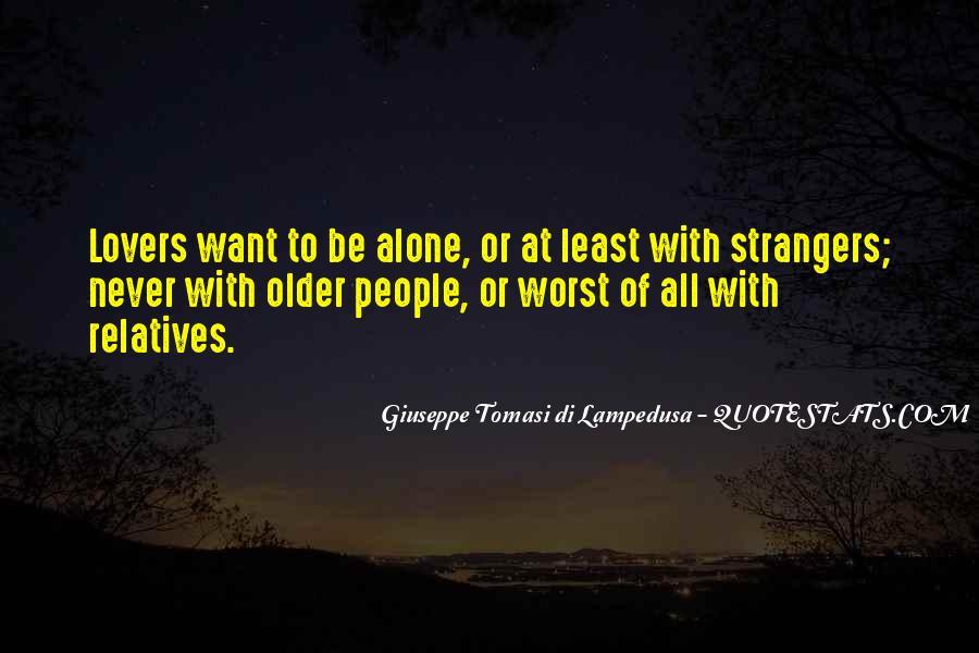 Giuseppe Tomasi Di Lampedusa Quotes #668856
