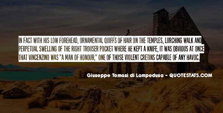 Giuseppe Tomasi Di Lampedusa Quotes #770453