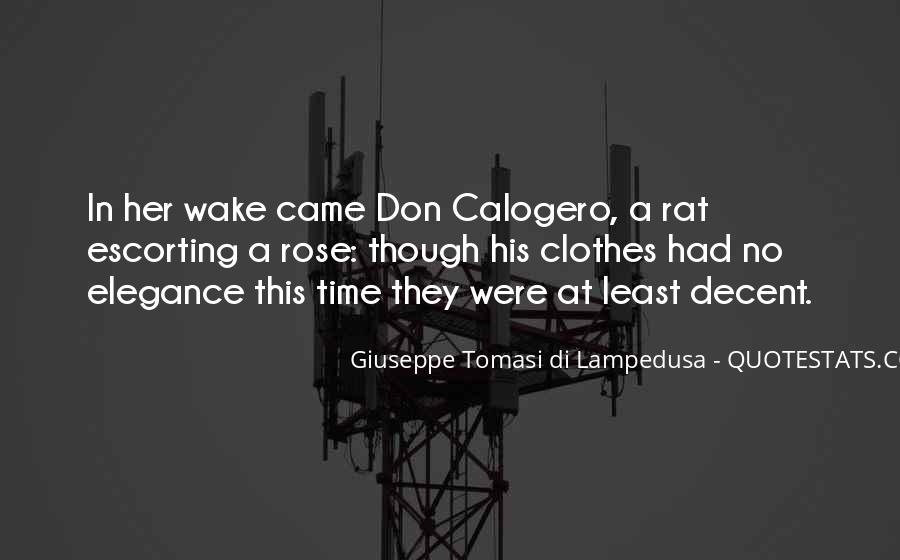 Giuseppe Tomasi Di Lampedusa Quotes #899241