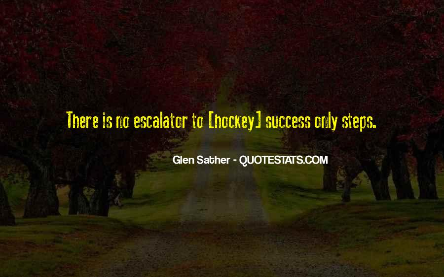 Glen Sather Quotes #540036