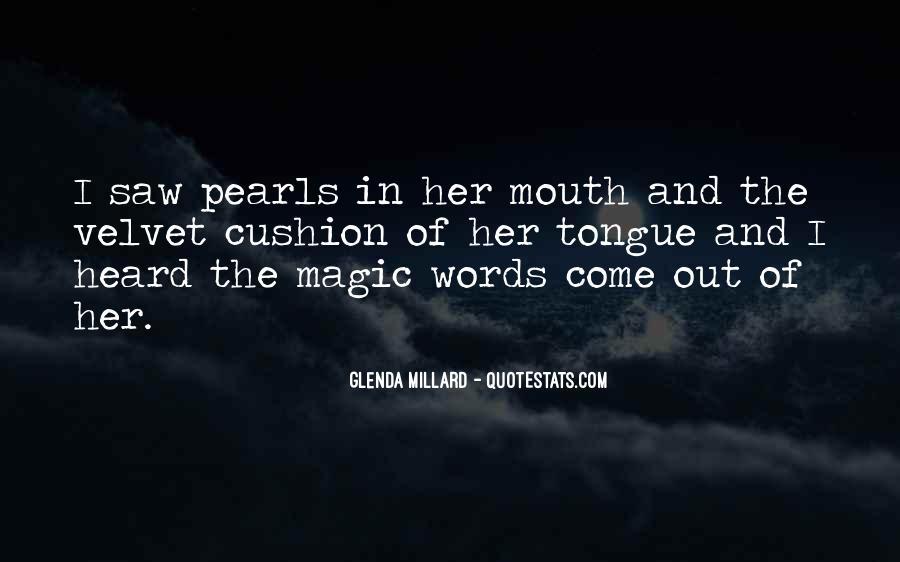 Glenda Millard Quotes #1044024