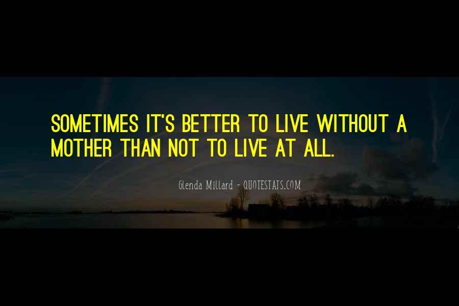 Glenda Millard Quotes #1545641