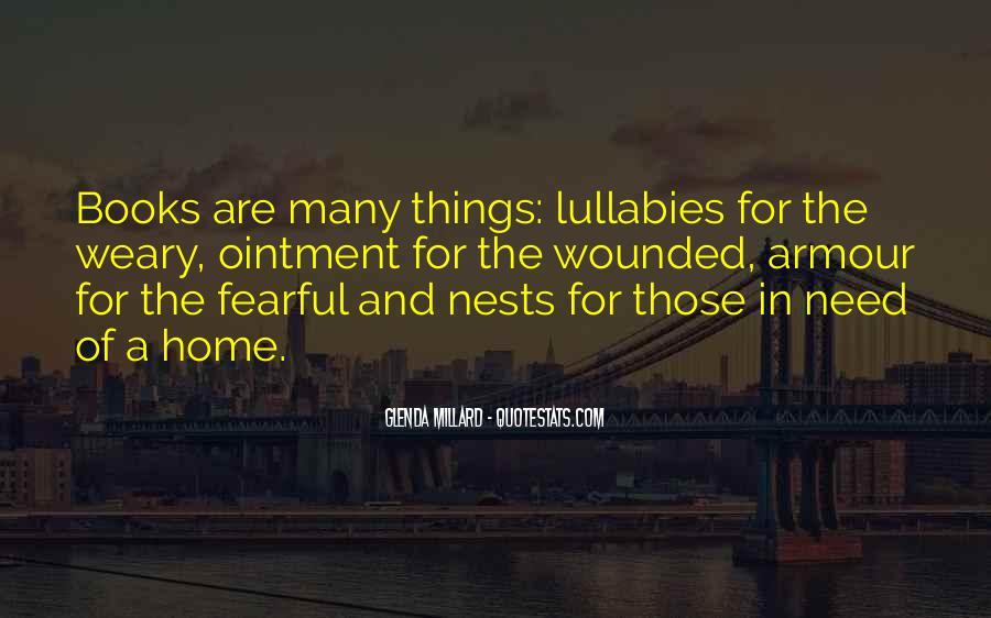 Glenda Millard Quotes #158963