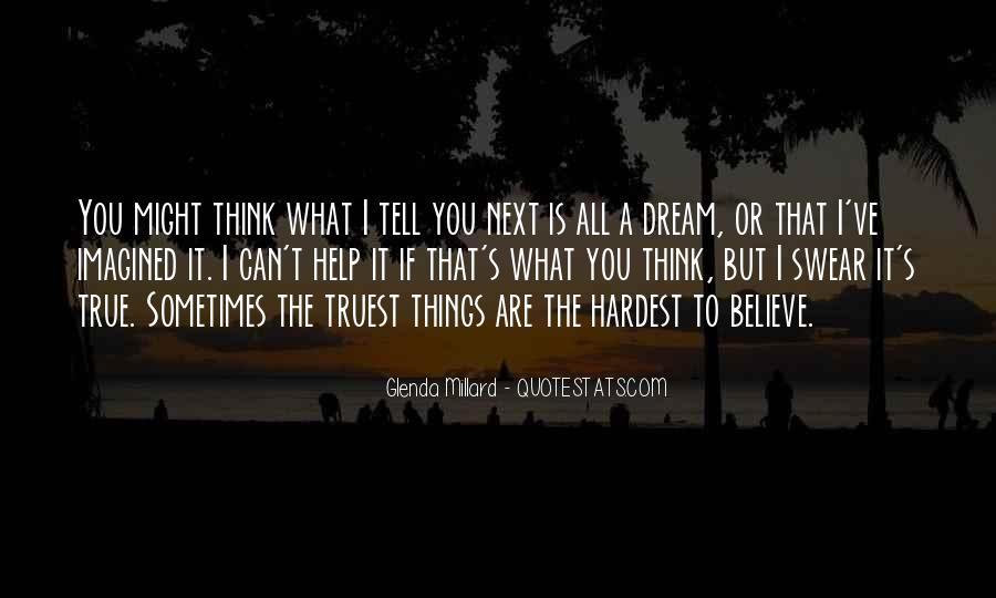 Glenda Millard Quotes #1615764