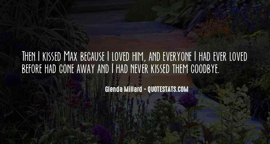 Glenda Millard Quotes #1700848
