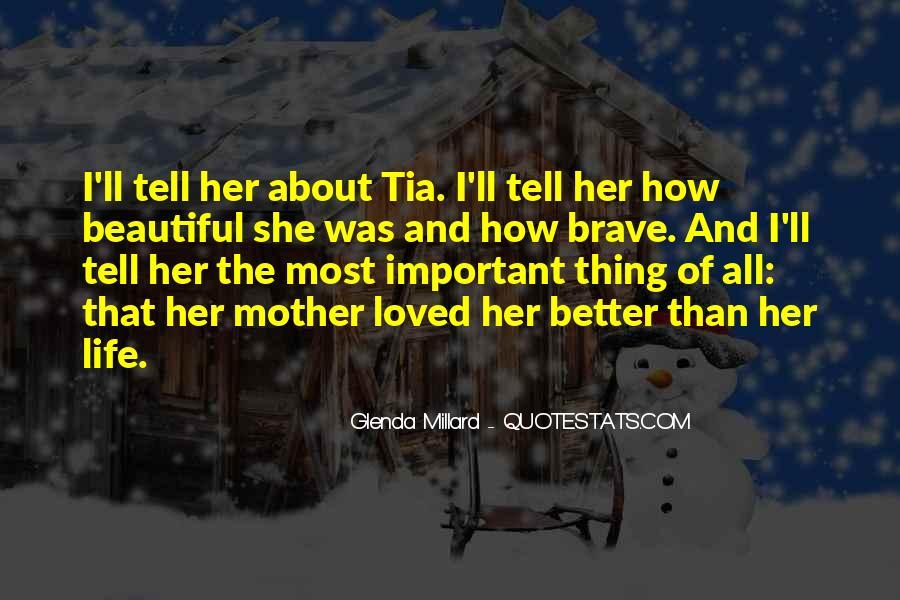 Glenda Millard Quotes #235819