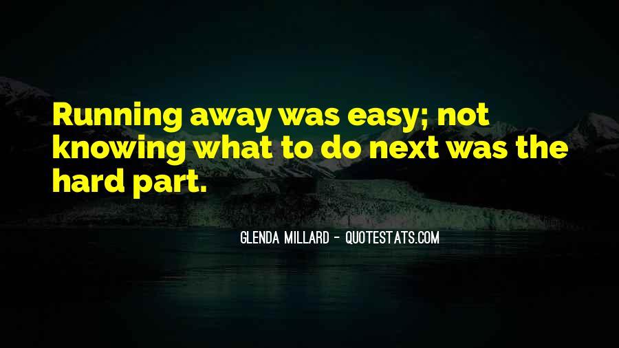Glenda Millard Quotes #29759