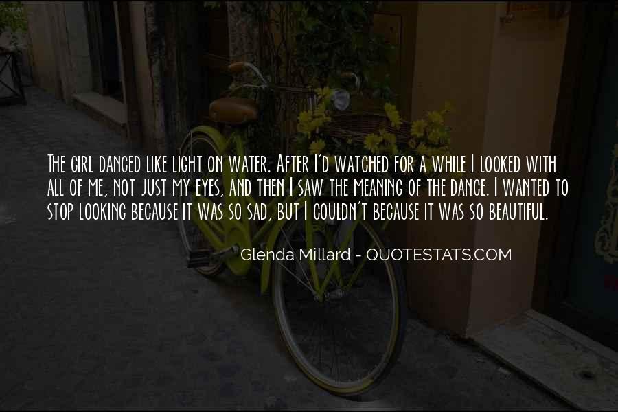 Glenda Millard Quotes #413568