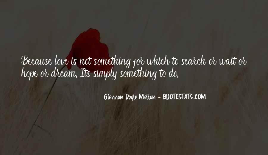 Glennon Melton Quotes #113735
