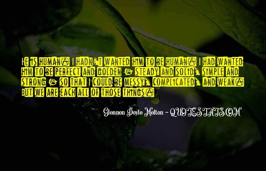 Glennon Melton Quotes #1162272