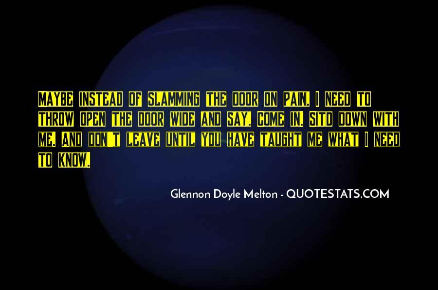 Glennon Melton Quotes #119464
