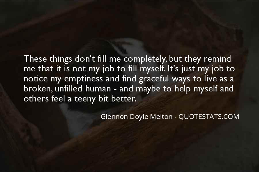 Glennon Melton Quotes #12413