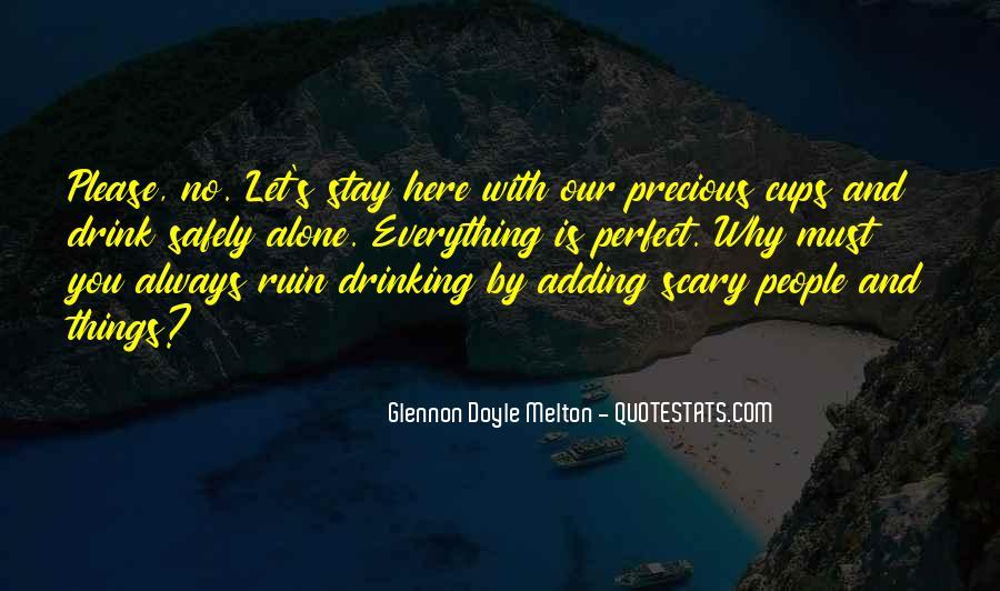 Glennon Melton Quotes #1327438