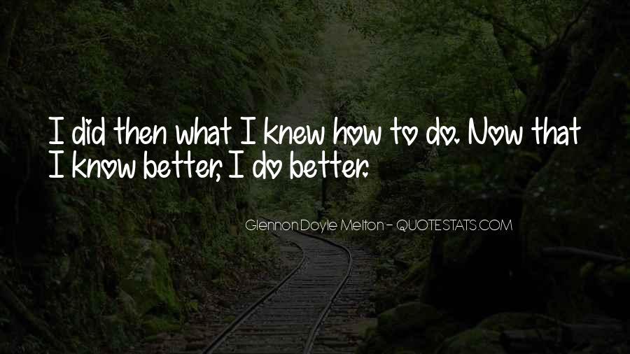 Glennon Melton Quotes #182243