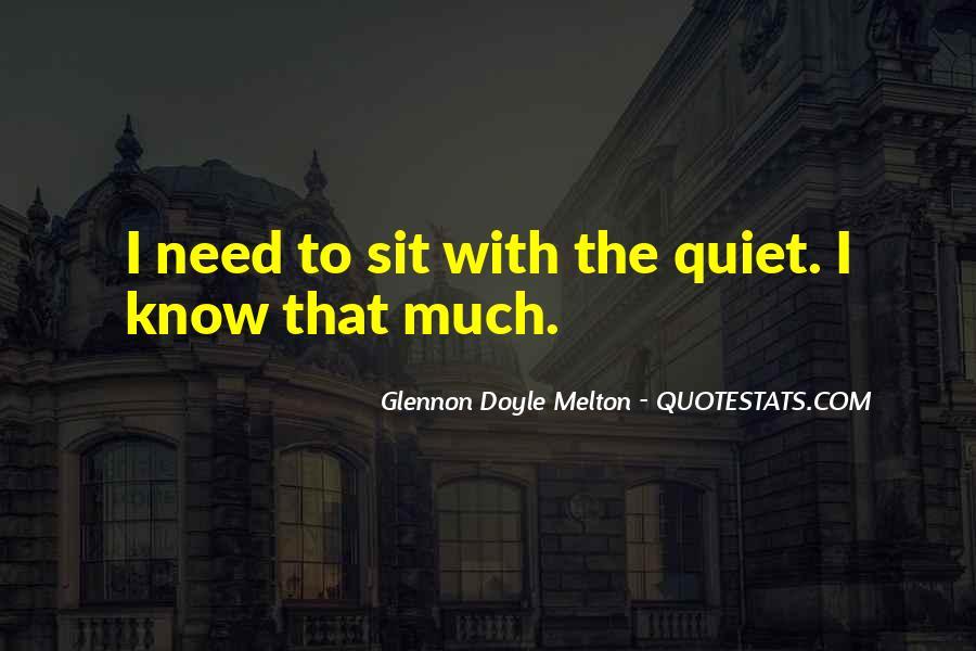 Glennon Melton Quotes #250460