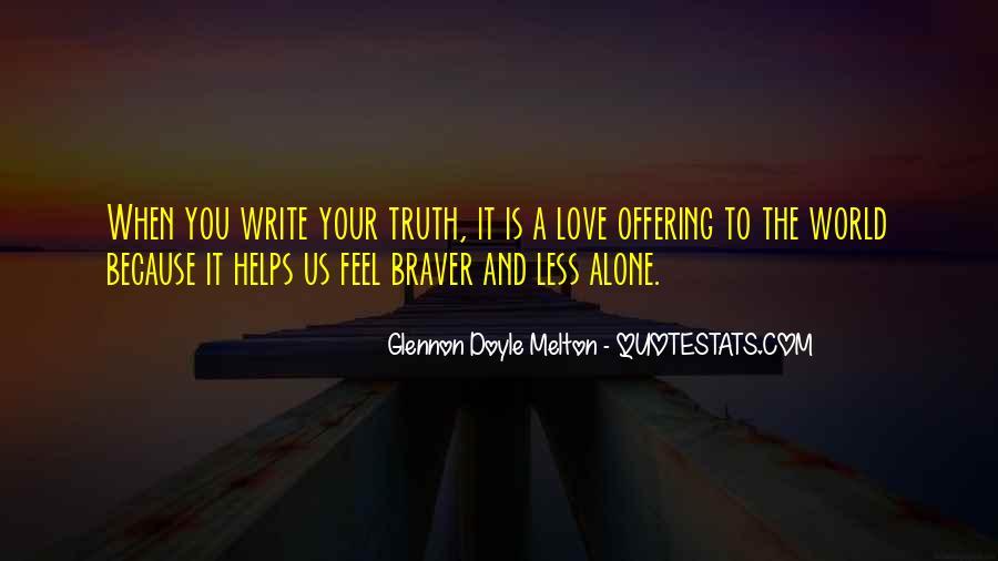 Glennon Melton Quotes #265004
