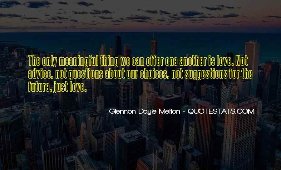 Glennon Melton Quotes #312948
