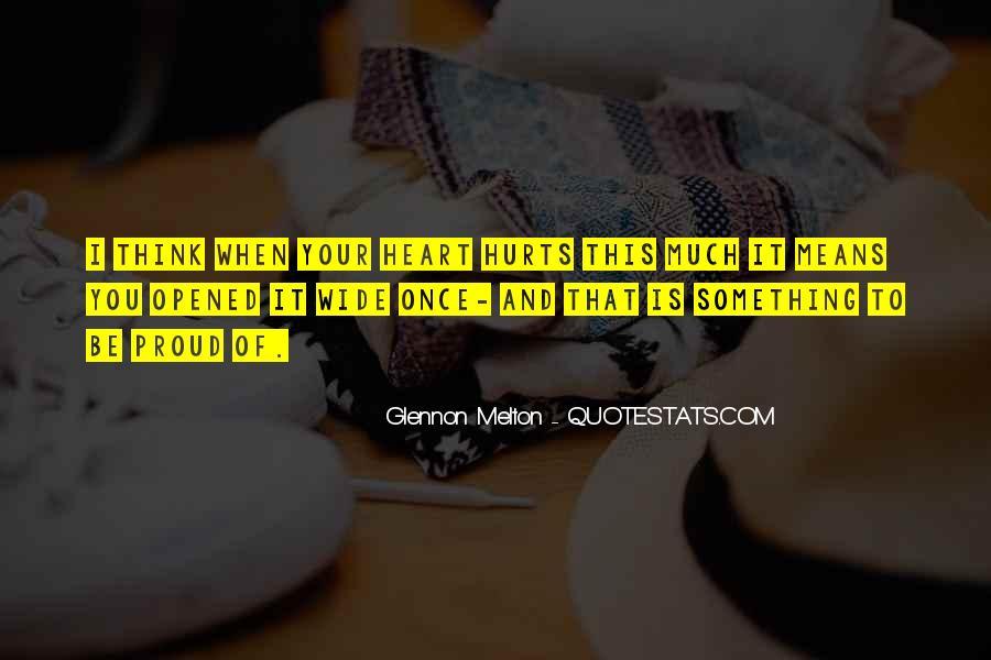 Glennon Melton Quotes #376458