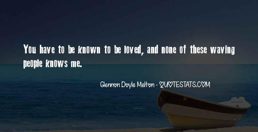 Glennon Melton Quotes #439995