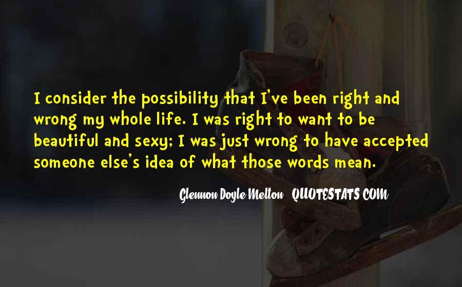Glennon Melton Quotes #480184