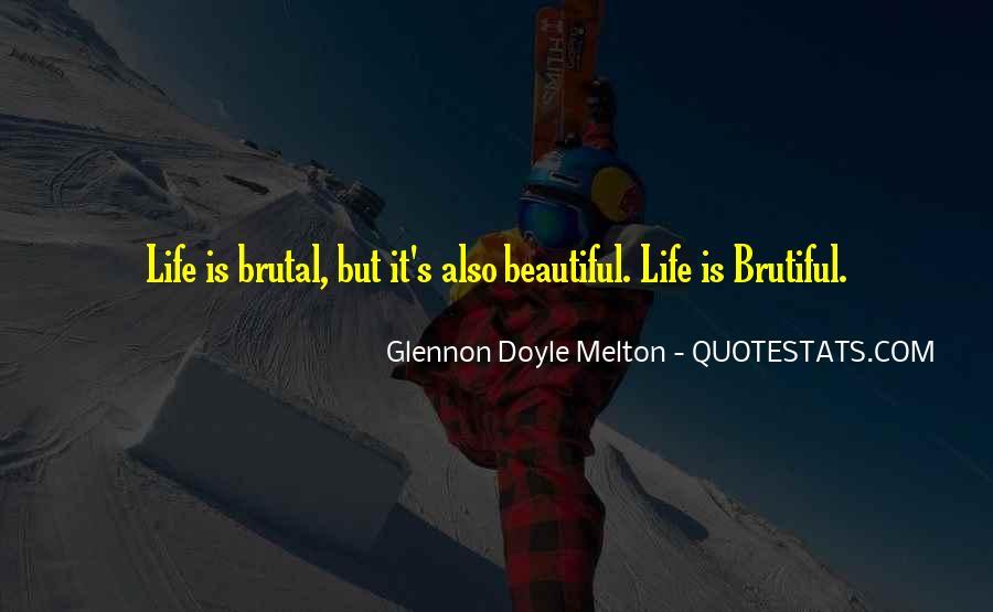 Glennon Melton Quotes #531360