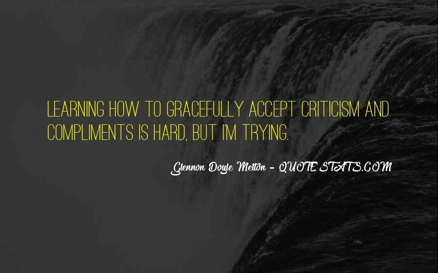 Glennon Melton Quotes #586038
