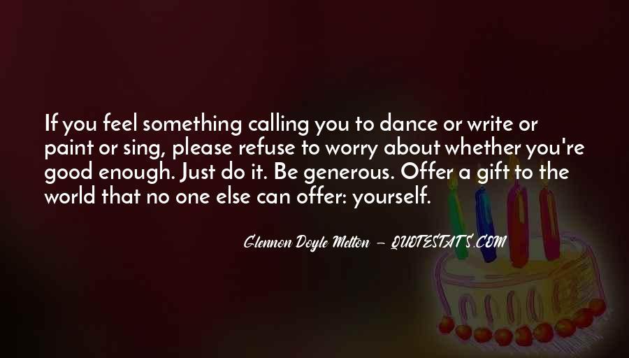 Glennon Melton Quotes #602623