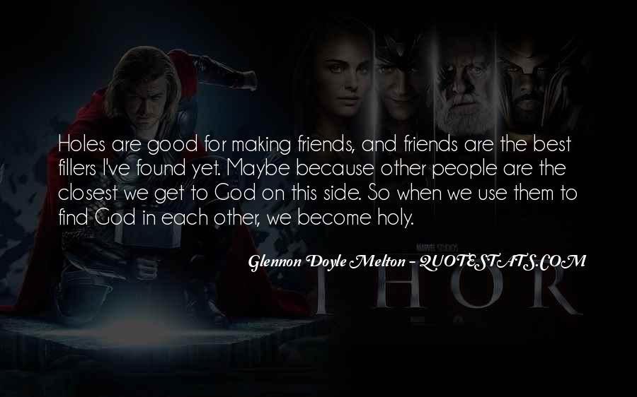 Glennon Melton Quotes #624095