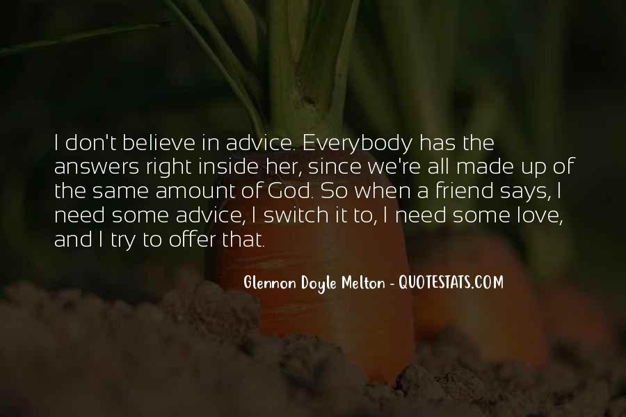 Glennon Melton Quotes #769879