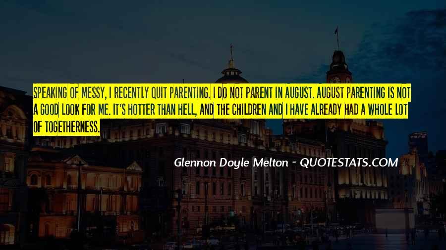 Glennon Melton Quotes #80278