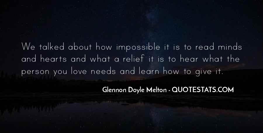 Glennon Melton Quotes #81437