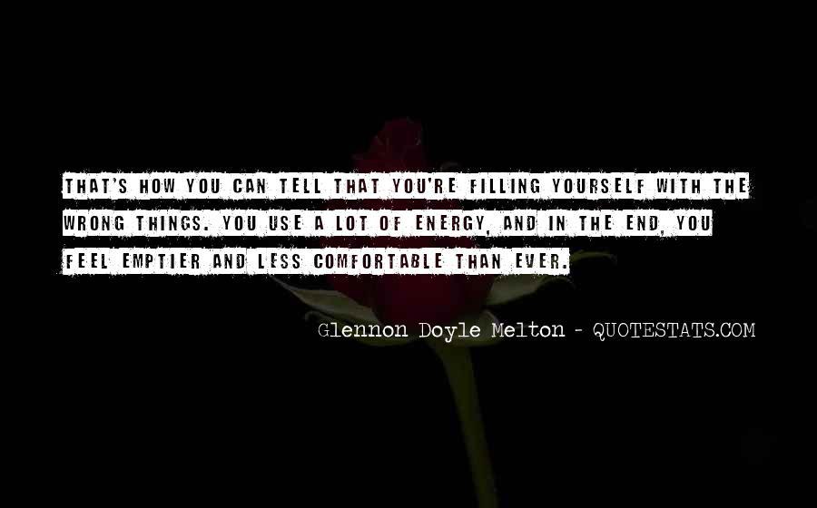 Glennon Melton Quotes #854685