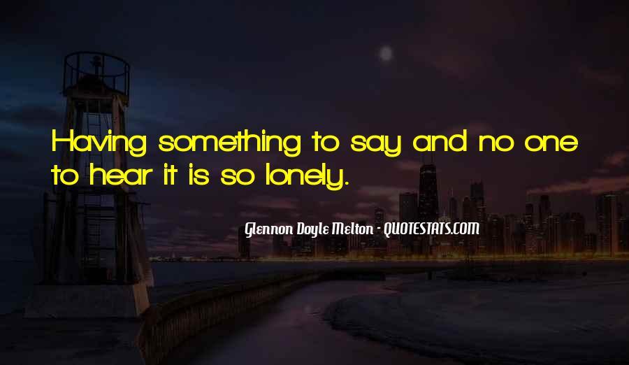 Glennon Melton Quotes #863784