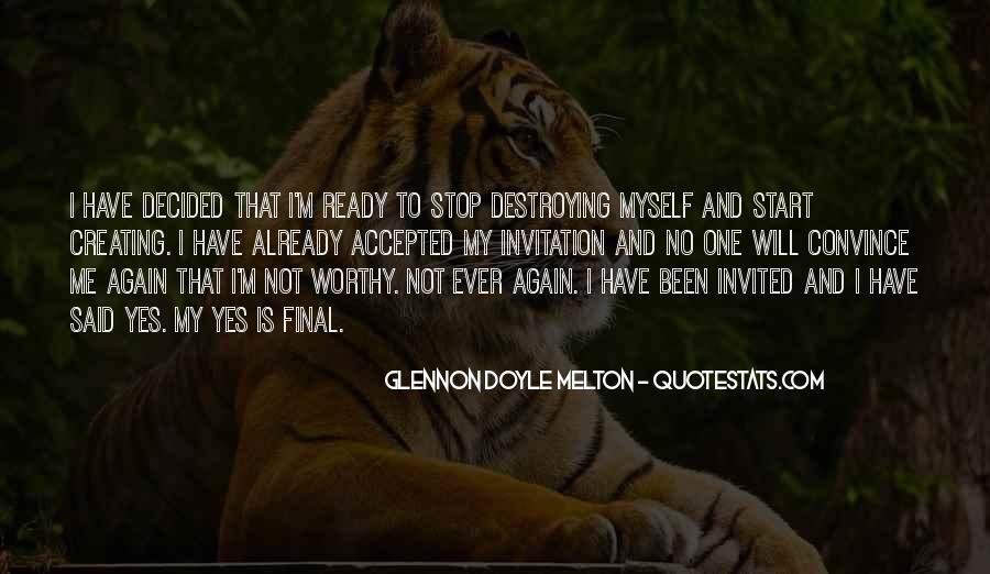 Glennon Melton Quotes #937491