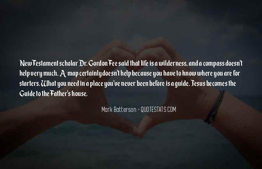 Gordon Fee Quotes #1551696