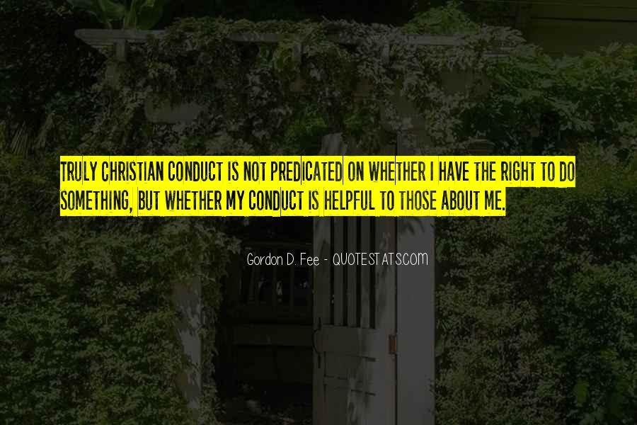 Gordon Fee Quotes #17077