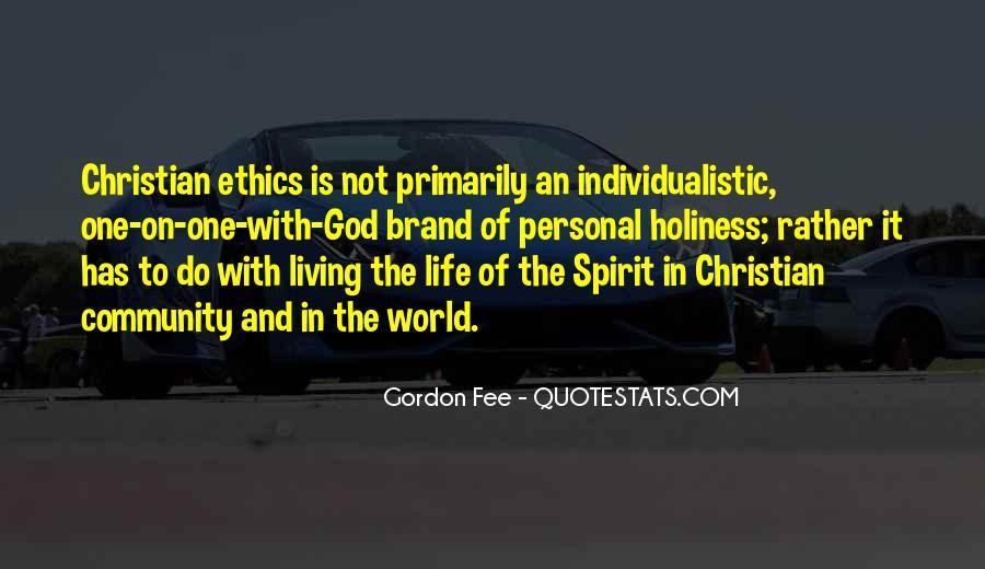 Gordon Fee Quotes #1818093