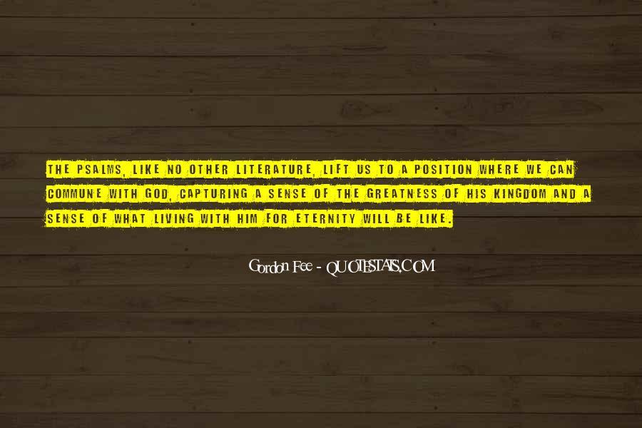 Gordon Fee Quotes #462165