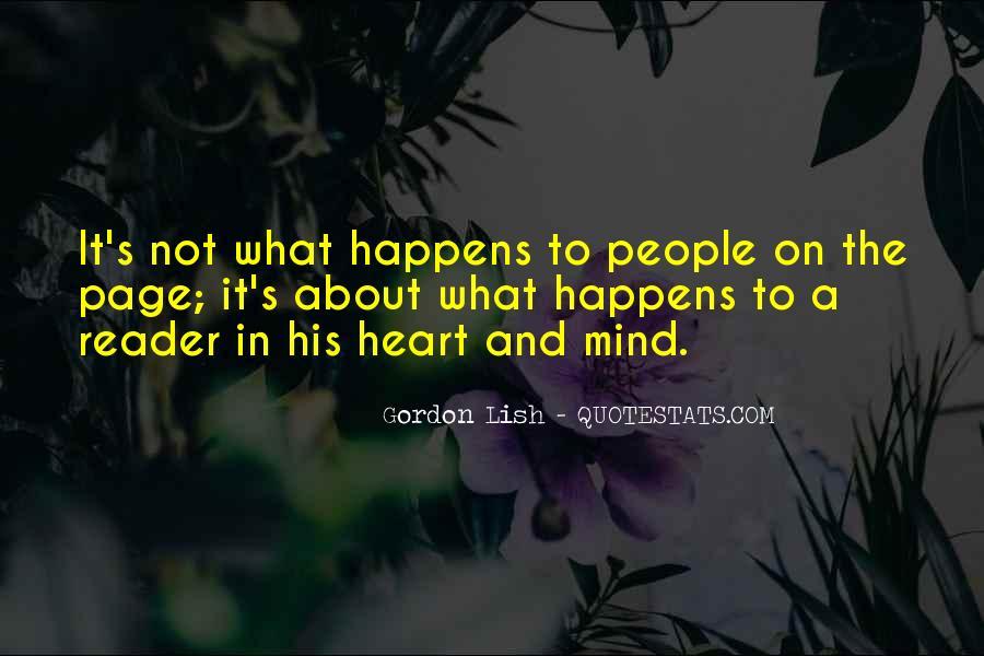 Gordon Lish Quotes #1512341