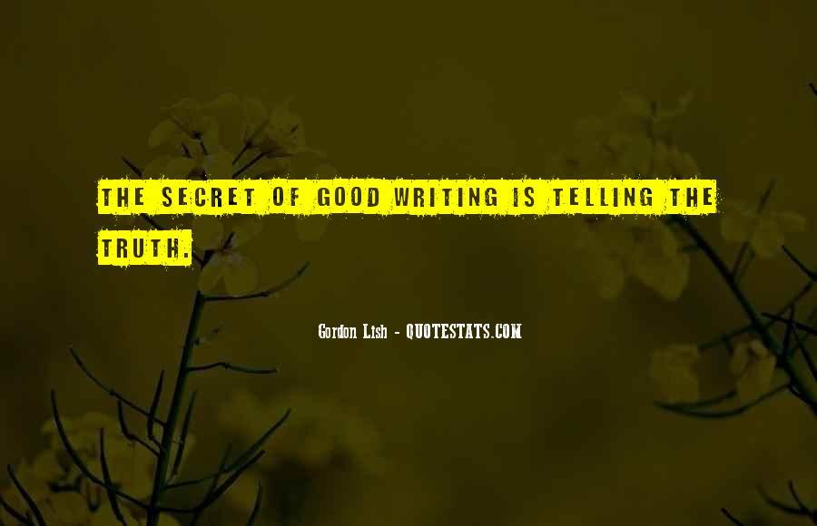 Gordon Lish Quotes #815805