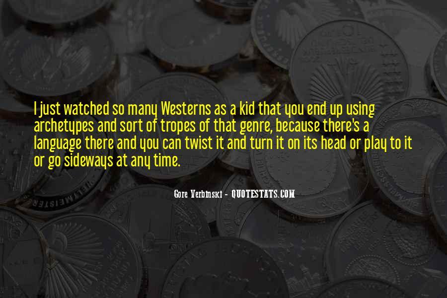 Gore Verbinski Quotes #37172