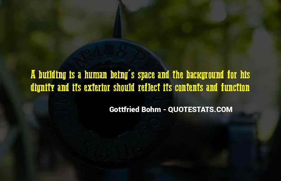 Gottfried Bohm Quotes #452357
