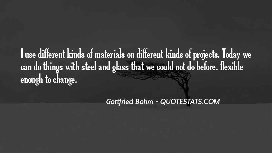Gottfried Bohm Quotes #45432