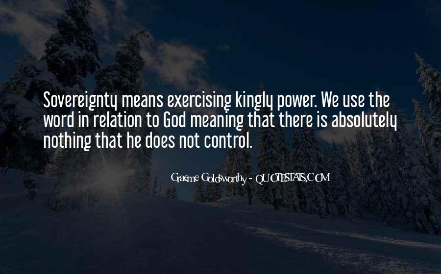 Graeme Goldsworthy Quotes #753047